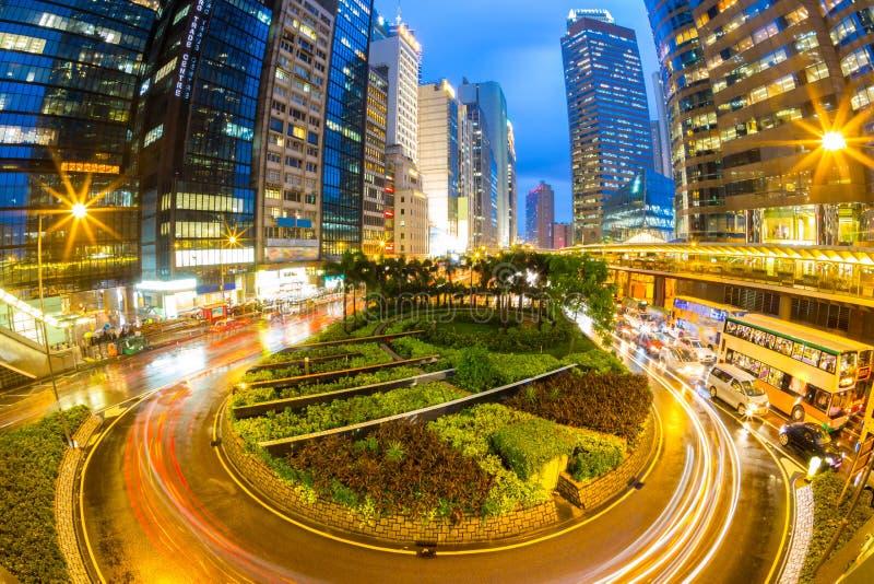 centrala Hong Kong arkivbilder