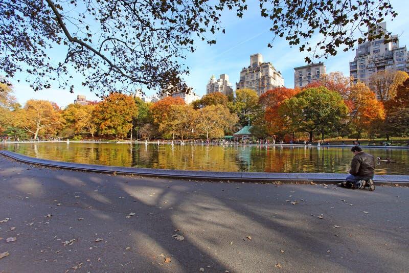 Centrala park przy słonecznym dniem, Miasto Nowy Jork obrazy stock