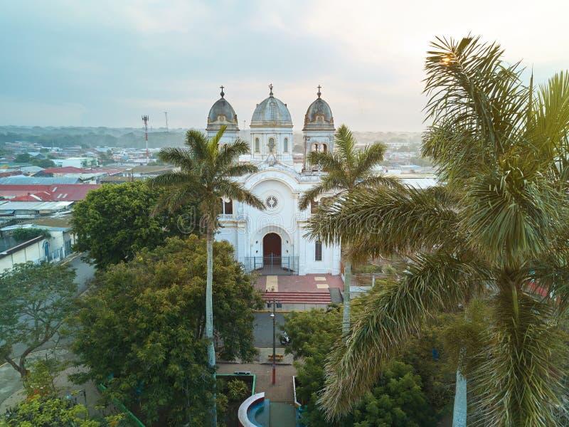 Centrala park w Diriamba Nikaragua zdjęcie stock