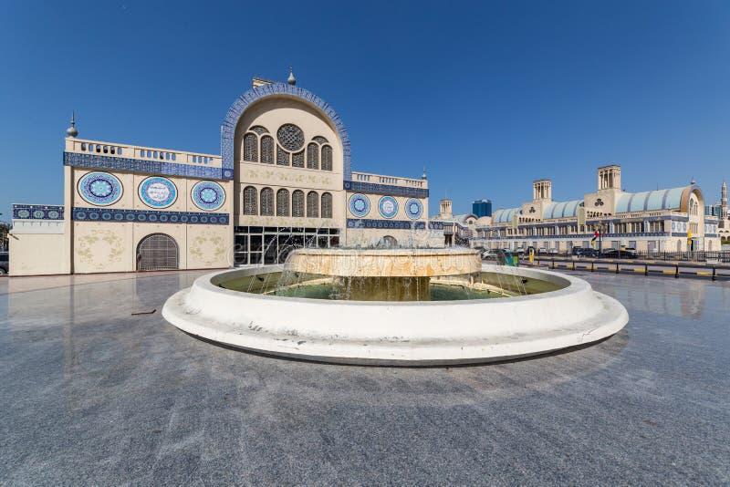 Centrala Souq i Sharjah UAE arkivfoton