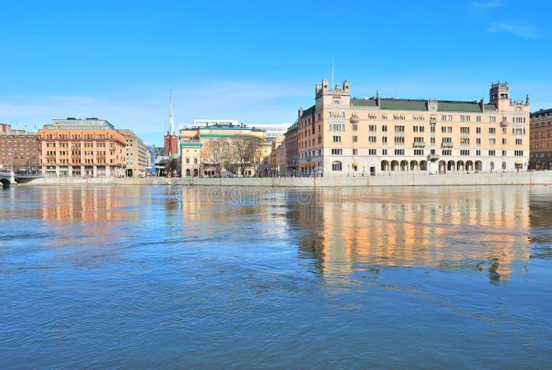 Centrala Stockholm royaltyfri foto