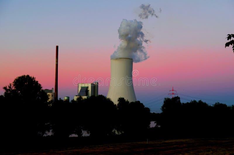 Centrale à charbon Duisbourg-Walsum images libres de droits