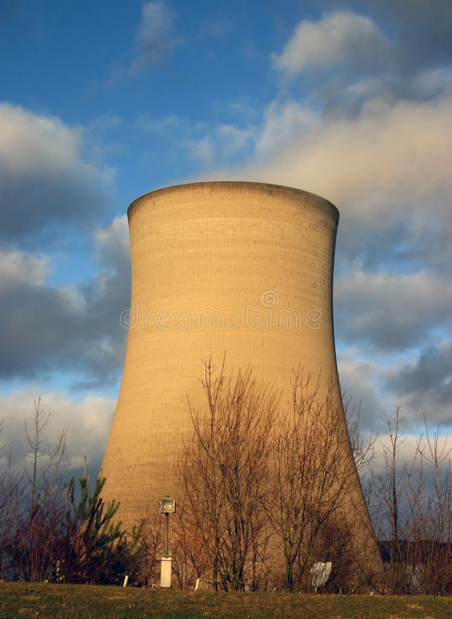 Centrale électrique 4 photos libres de droits