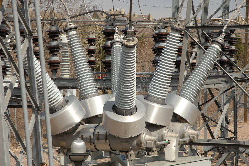 Centrale électrique 5 photo libre de droits