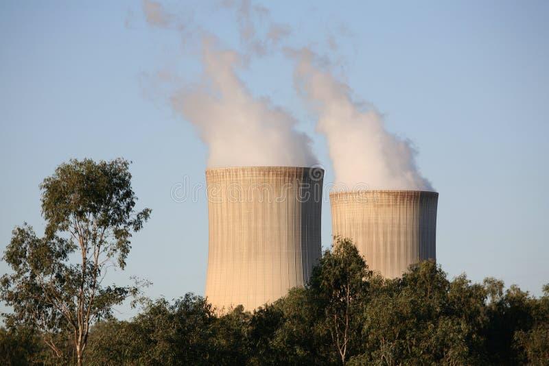 Centrale électrique images stock