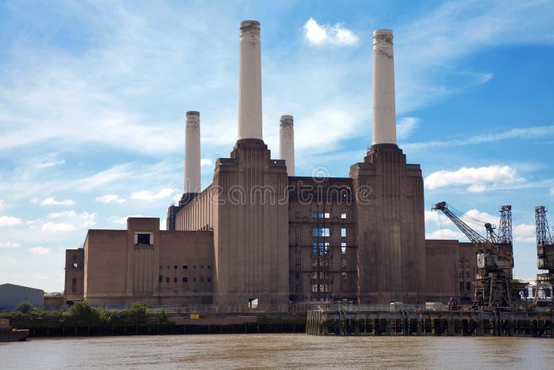 Centrale électrique de Battersea photo libre de droits