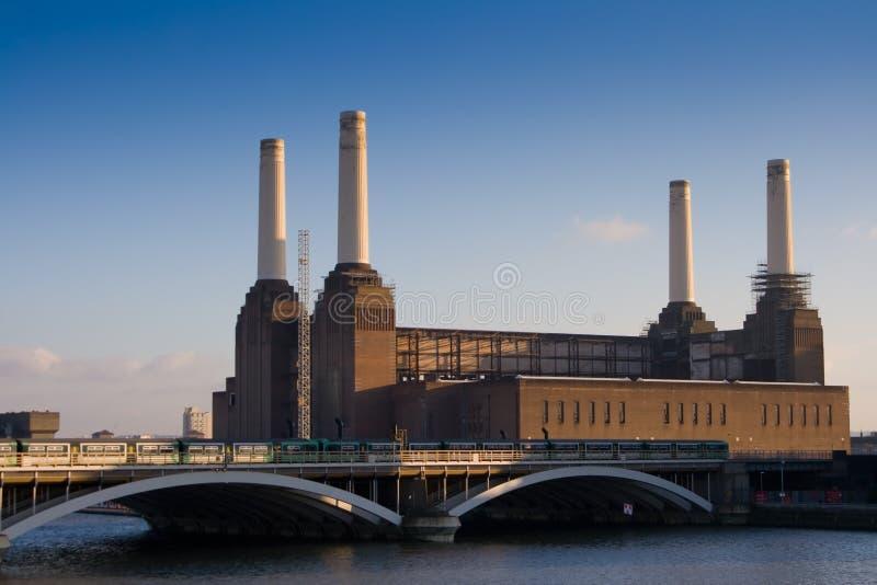 centrale électrique de battersea photos stock
