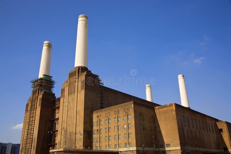 centrale électrique de battersea photographie stock