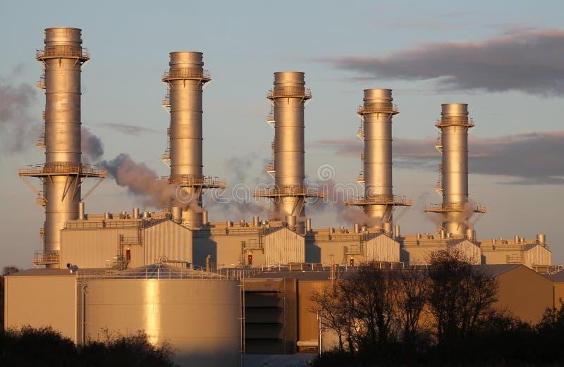 Centrale électrique de Pembroke photographie stock