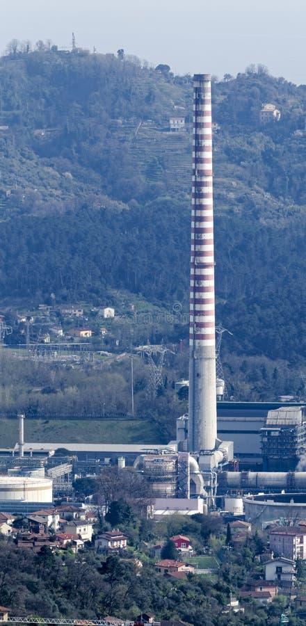 centrale électrique en Italie photographie stock