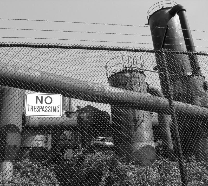 Centrale abandonnée photos libres de droits