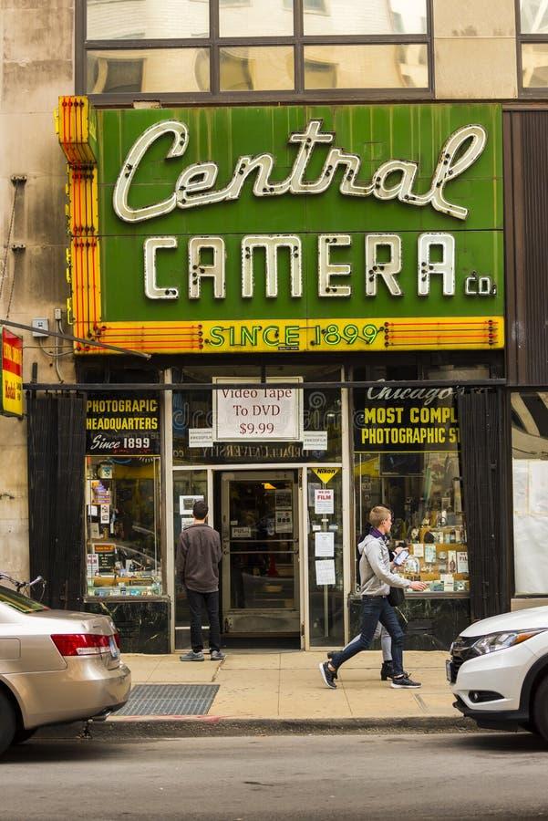 Centrale Camera Chicago stock fotografie