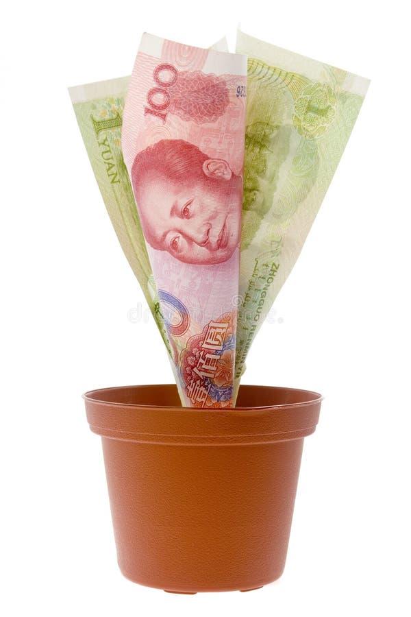 Centrale d'argent chinoise photographie stock libre de droits