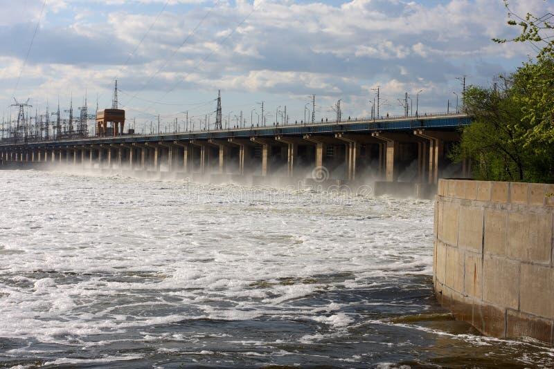 Centrale d'hydro-électricité photos stock