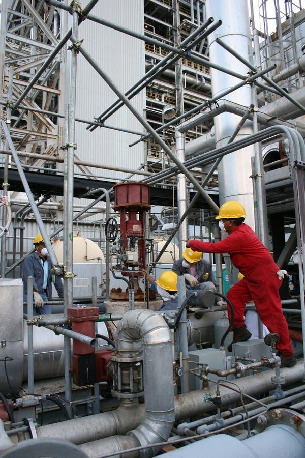 Centrale de dessalement images libres de droits