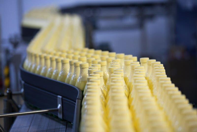 Centrale del latte immagini stock