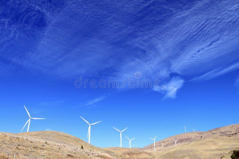 Centrale del mulino a vento immagini stock libere da diritti