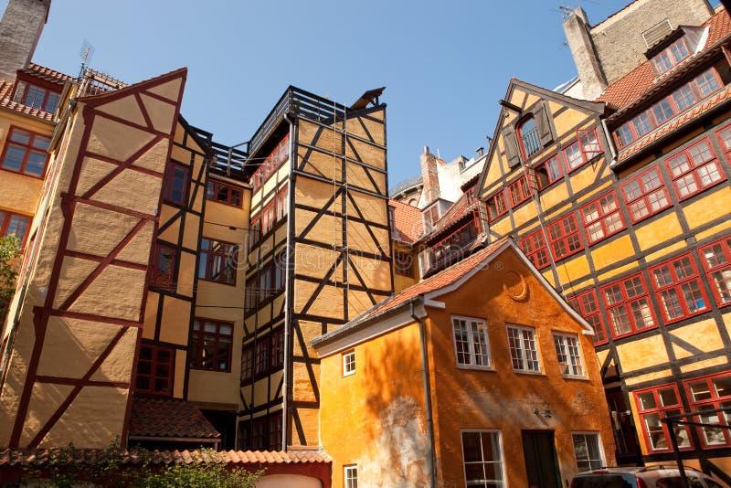Centrale di Copenhaghen, Danimarca immagine stock