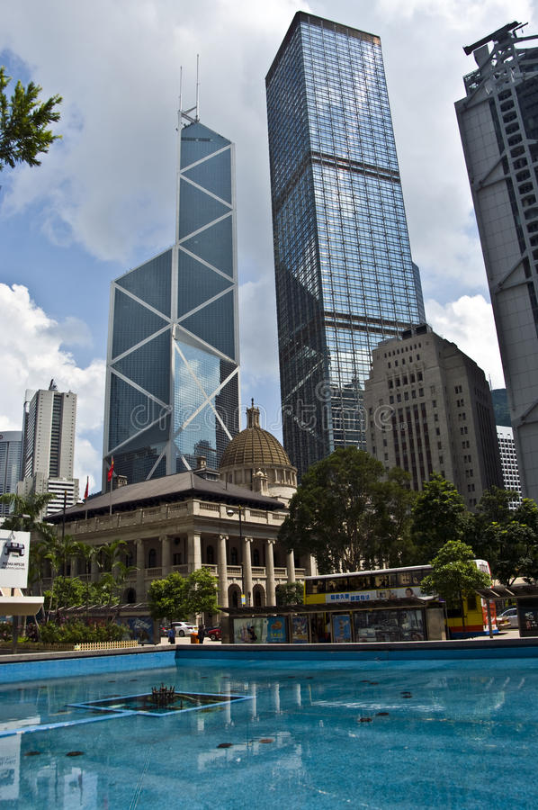Centrale di Hong Kong immagine stock libera da diritti