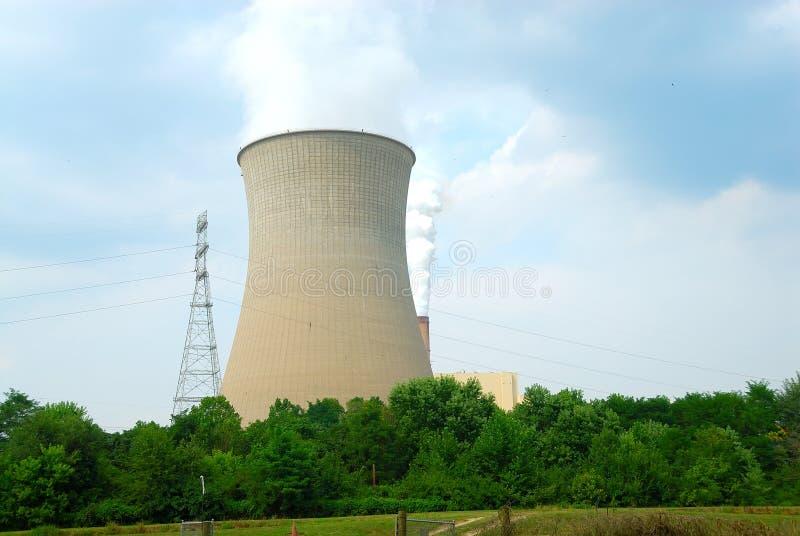 Centrale elettrica immagini stock libere da diritti