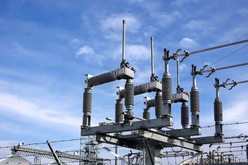 Download Centrale elettrica immagine stock. Immagine di industriale - 7317799