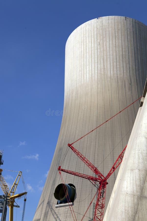 Centrale elettrica construction1 fotografie stock libere da diritti