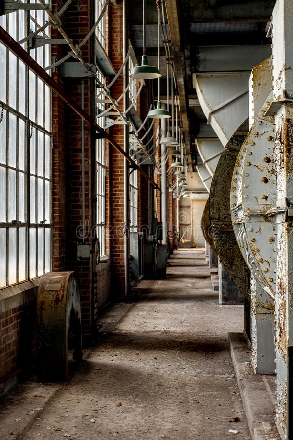 Centrale elettrica del carbone - Indiana Army Ammunition Depot - Indiana immagine stock