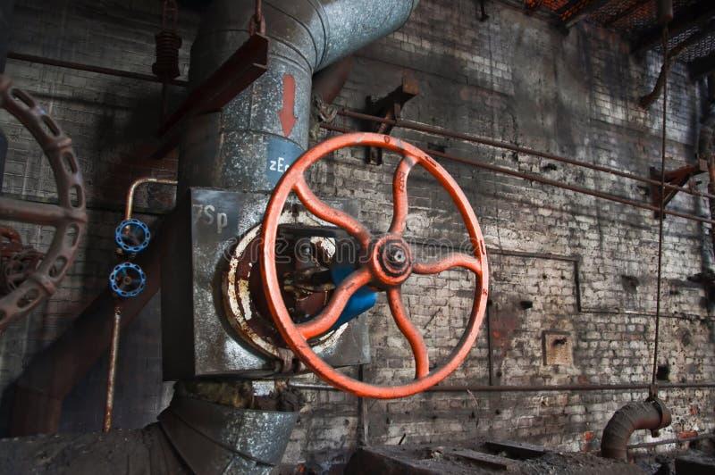 Centrale elettrica del generatore immagine stock libera da diritti
