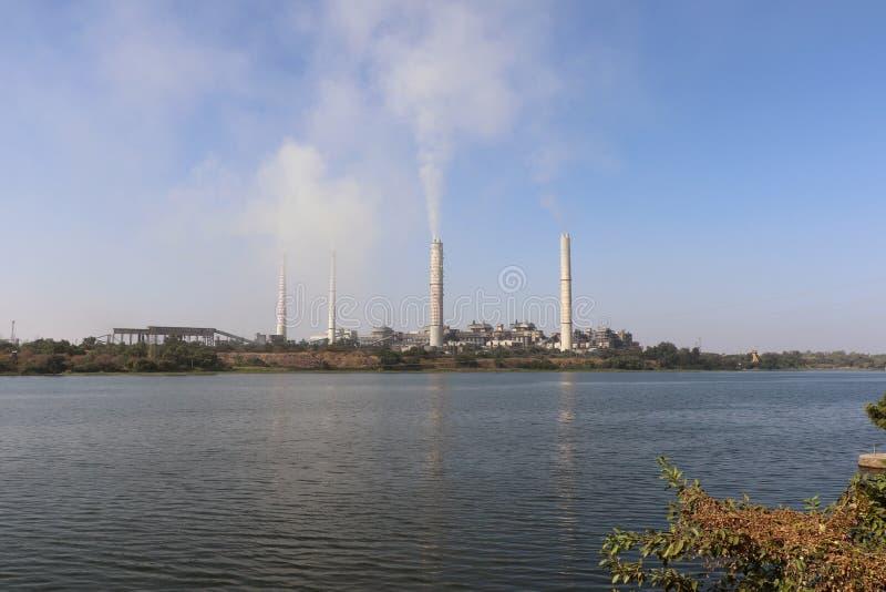 Centrale elettrica del termale di Kota immagini stock libere da diritti