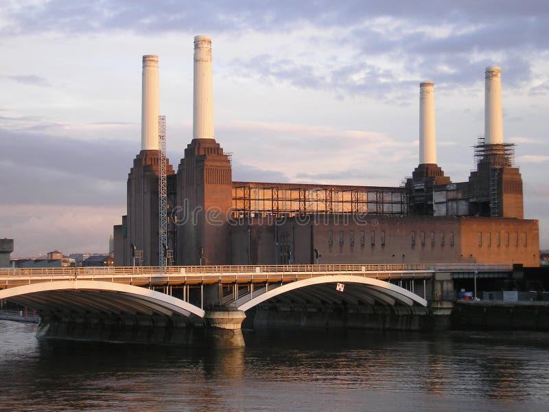Centrale elettrica di Battersea fotografia stock libera da diritti