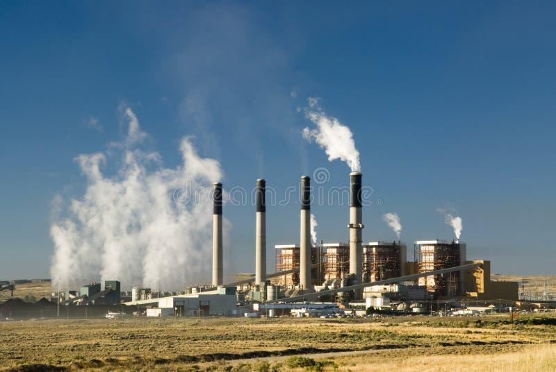 Centrale elettrica di Bridger fotografia stock