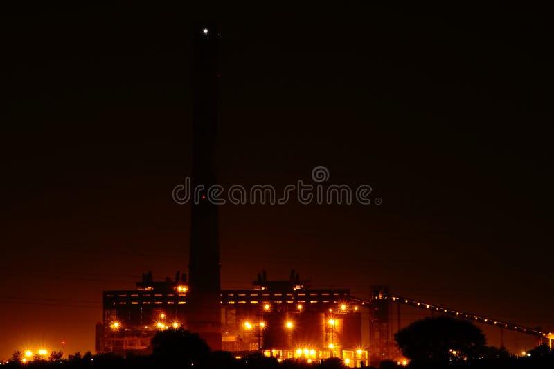 Centrale elettrica di NSPCL Bhilai, Bhilai Chhattishgarh immagine stock libera da diritti