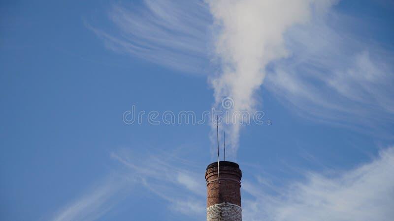 Centrale elettrica termica, locale di caldaia fotografia stock
