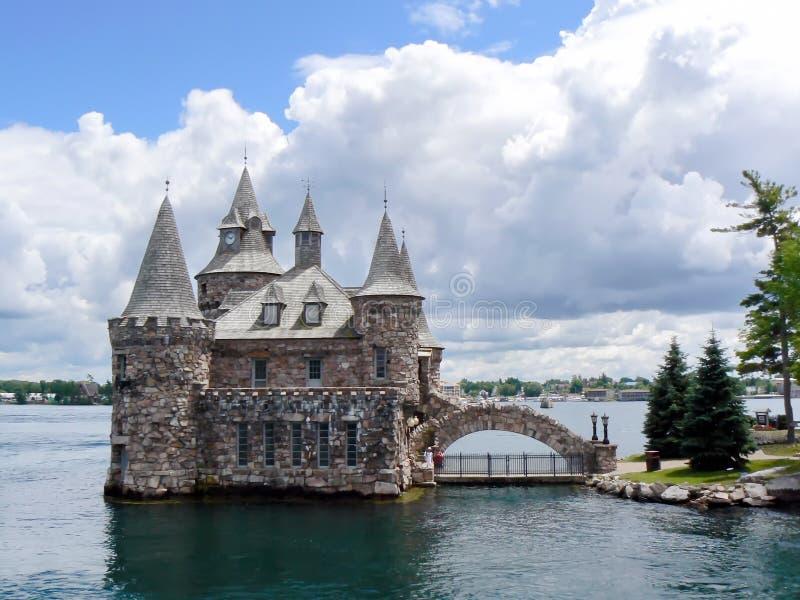 Centrale elettrico sul lago di Ontario, Canada immagini stock