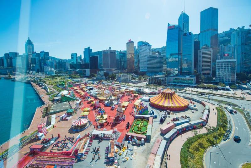 Centrale, Hong Kong - 10 gennaio 2018: Il grande europeo Ca di AIA immagine stock