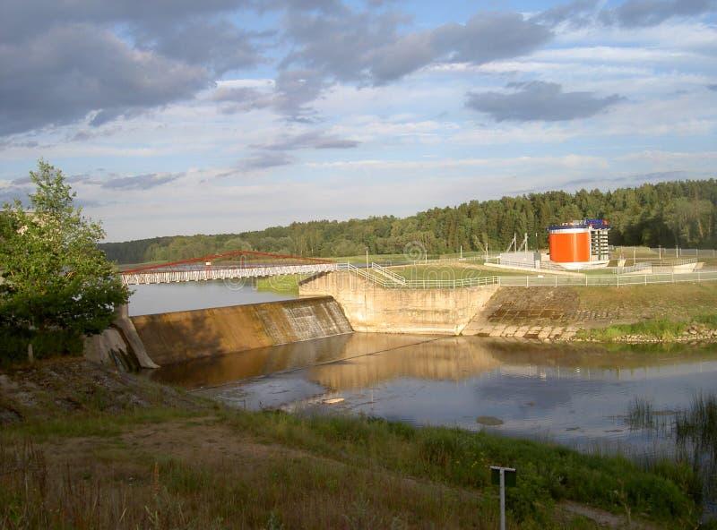 Centrale hydroélectrique photos stock
