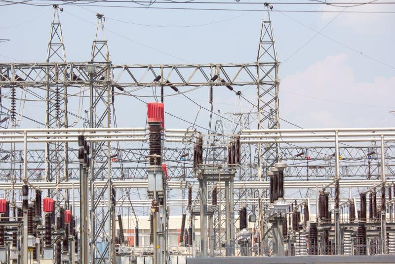 Centrale, industrie de facilit? de fabrication de courant ?lectrique photo libre de droits