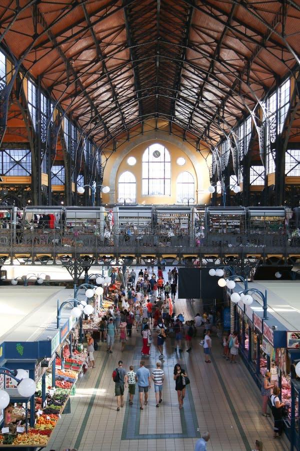 Centrale Markt Hall Budapest Hungary stock foto