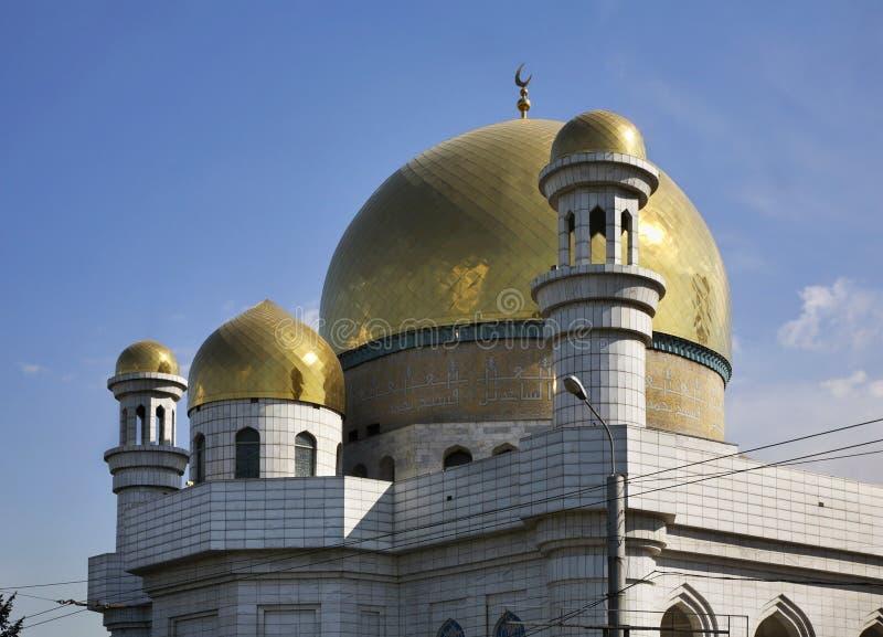 Centrale Moskee in Alma Ata kazachstan royalty-vrije stock afbeeldingen