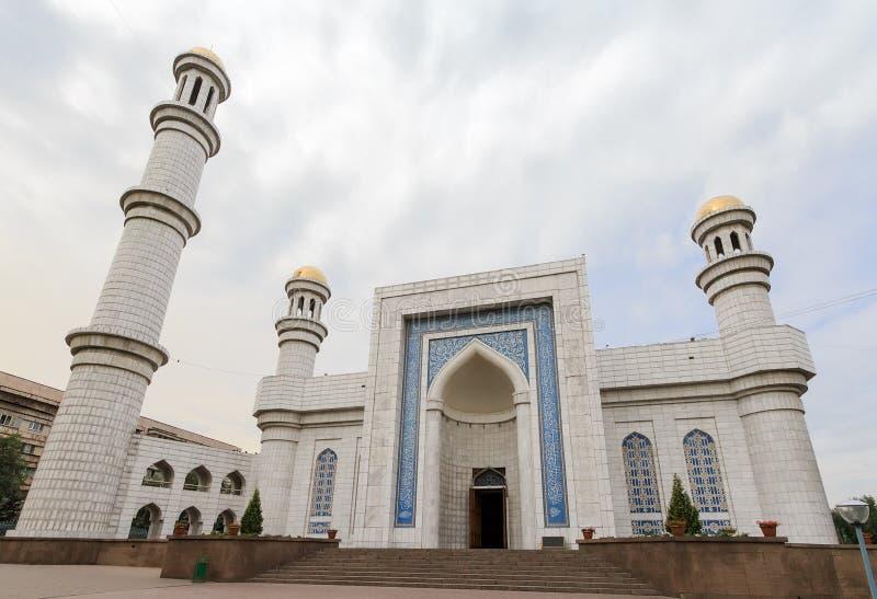 Centrale Moskee van Alma Ata Alma Ata, Kazachstan royalty-vrije stock foto