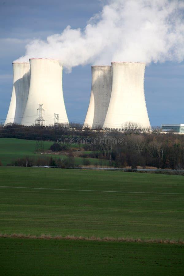 Centrale nucléaire image libre de droits