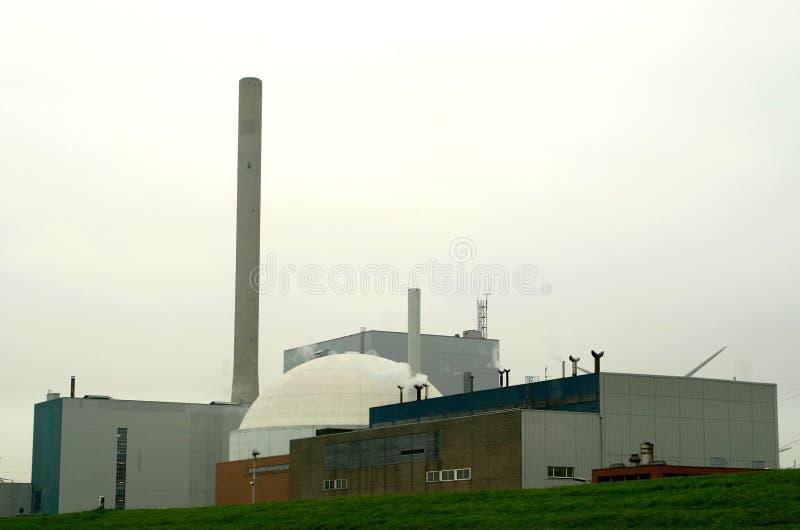 Centrale nucléaire (Hollandes) images libres de droits