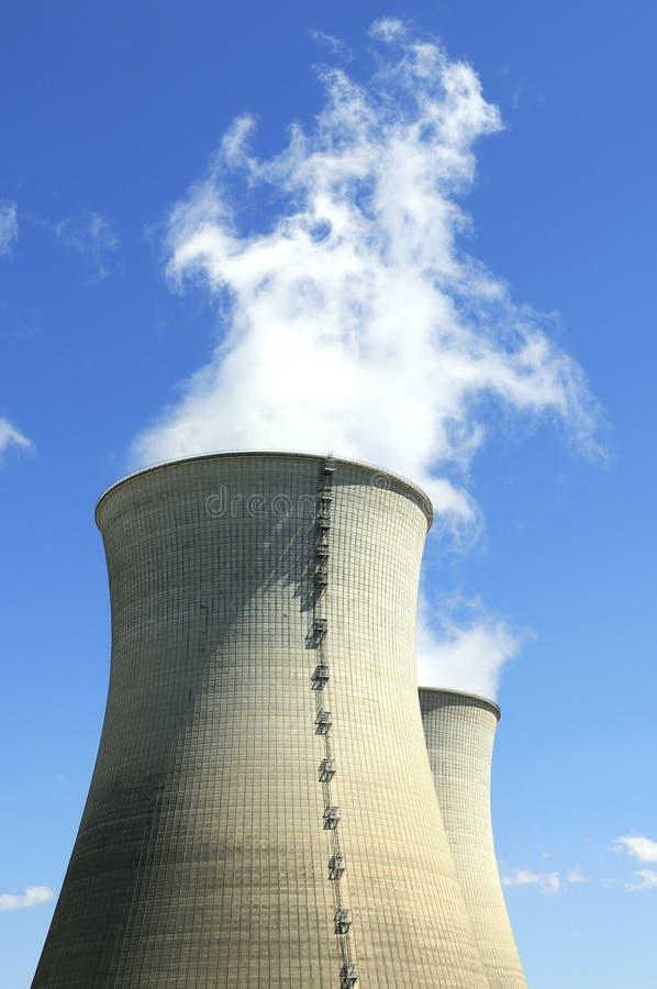 Centrale nucleare immagine stock