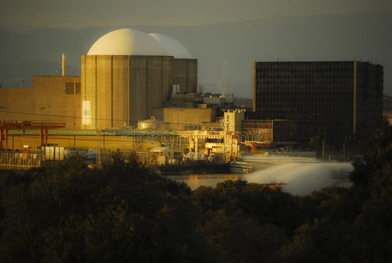 Centrale nucleare di Almaraz immagine stock