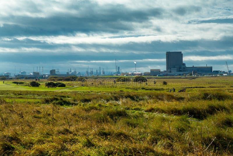 Centrale nucleare di Hartlepool immagini stock