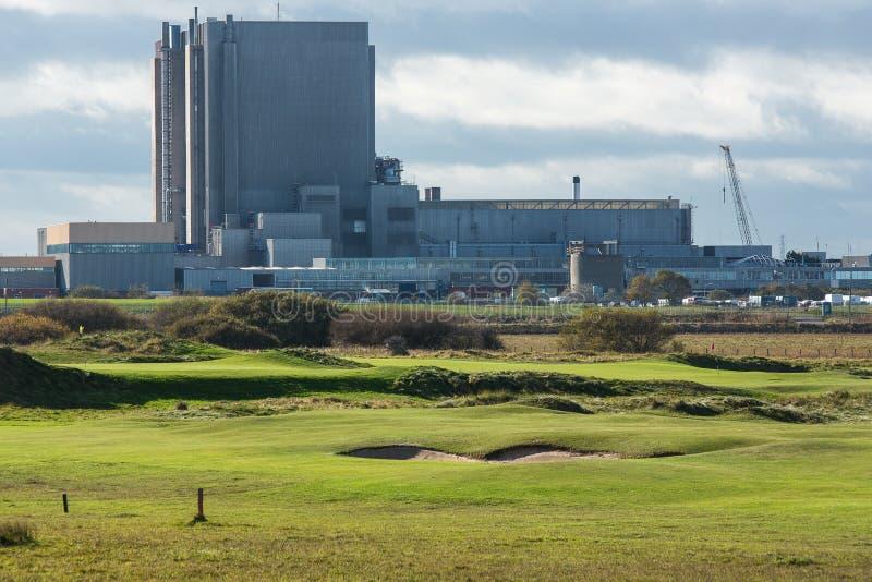 Centrale nucleare di Hartlepool fotografia stock libera da diritti
