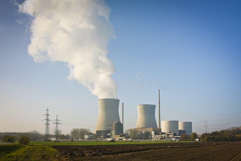 Centrale nucleare Gundremmingen fotografia stock