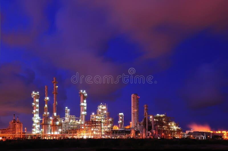 Centrale pétrochimique photos libres de droits