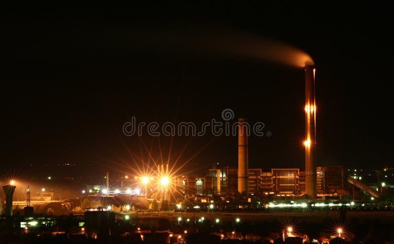 Centrale thermique photos libres de droits