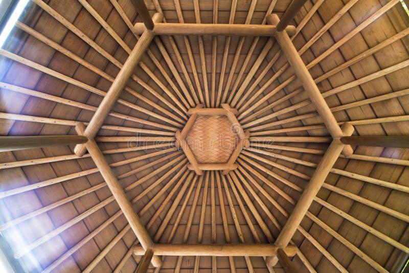 Centrale vijver van Mejiro-Tuin waar de eenden en die rusten stock foto's